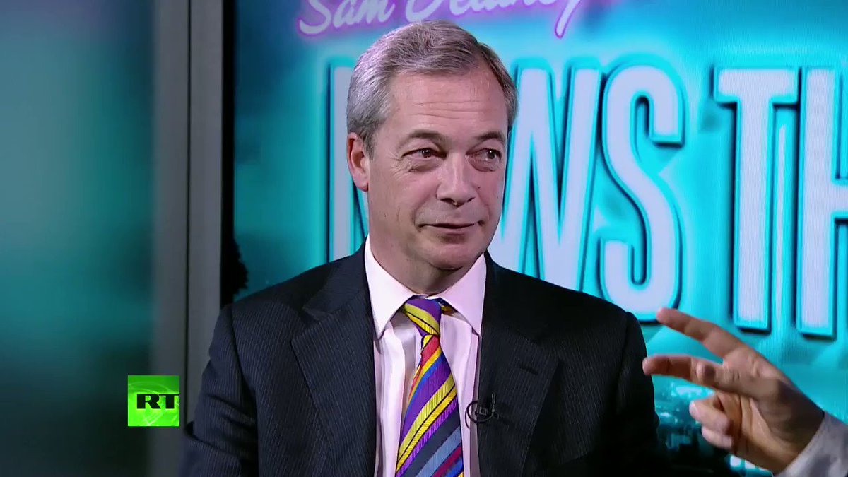 Child Calls Out Nigel Farage Over His Immigration Stance On Live British TV