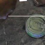 うん、まあサバイバルでも使えるかも?(笑)とても斬新なツナ缶の使い方!