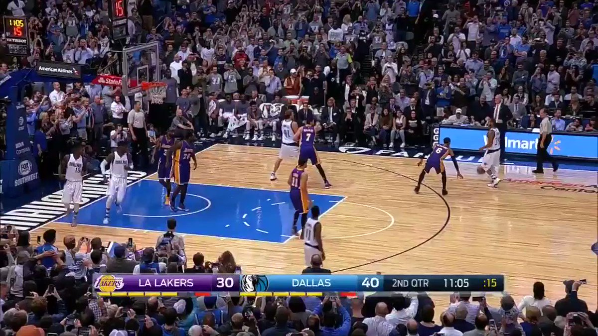 THE SHOT HEARD AROUND THE AAC! CONGRATS ON 30K DIRK!!