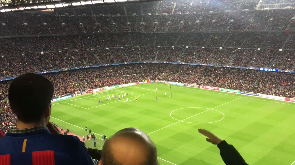 Trinxant la Història. MIRACLE gravat desde la cabina de @FCBRAC1 #frac1 https://t.co/E3pWlXIxzf