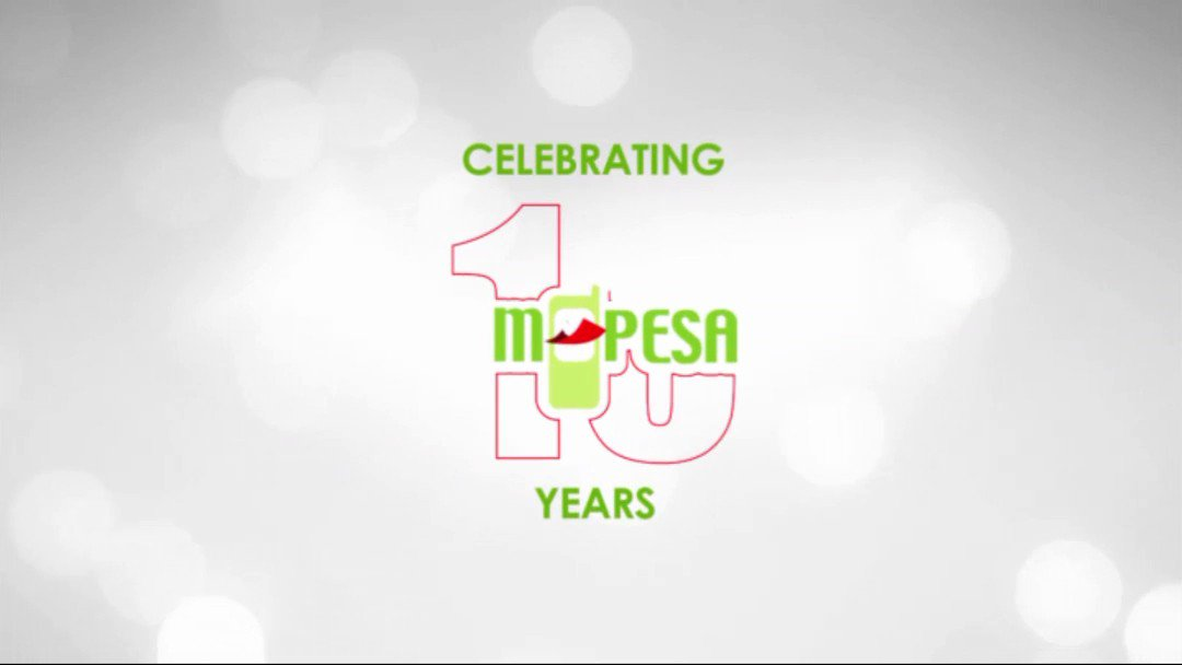 Thank you for 10 successful years of M-Pesa https://t.co/dghEcM2Dqt
