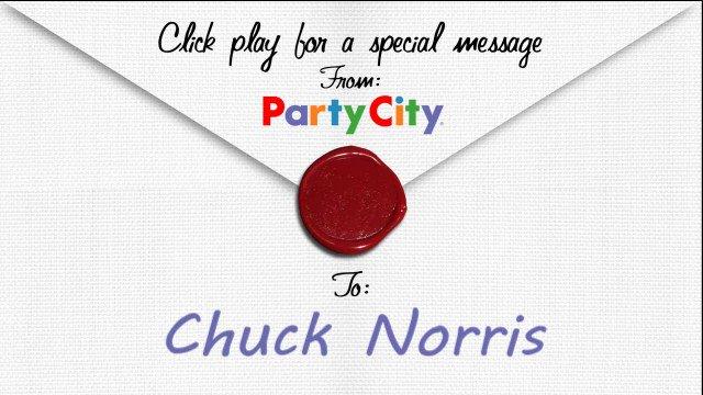 Dear Birthday, Happy Chuck Norris!