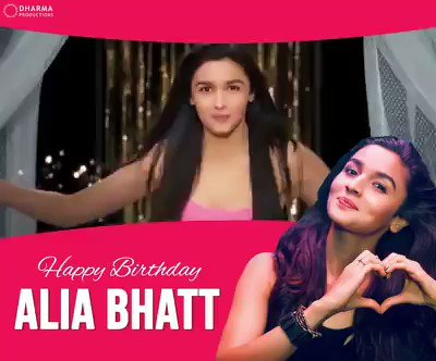 She s our favourite student, favourite dulhania and so much more! Happy birthday Alia Bhatt !