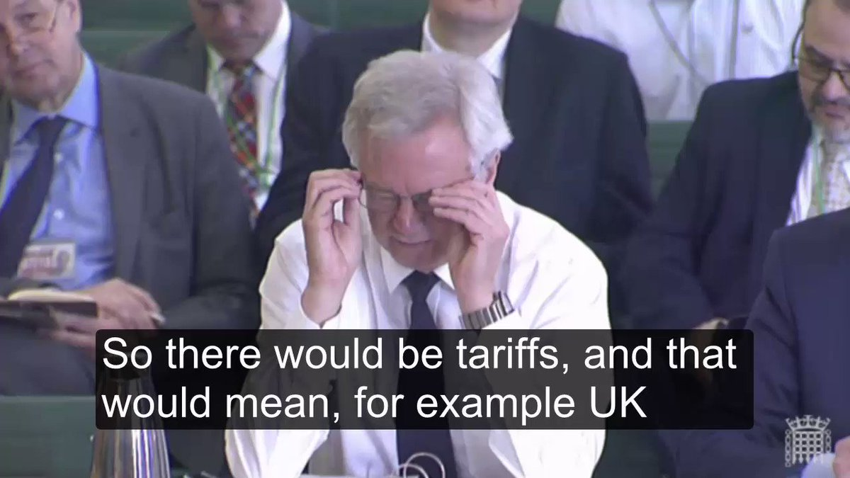 Here's the video of the Benn/Davis exchange on No Deal Brexit - tariffs, health cards etc, that I was tweeting about https://t.co/I6ZXSUcs3T