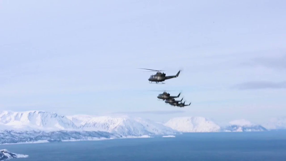 Footage of Exercise Joint Viking in the North of Norway, in Finnmark near Russia.