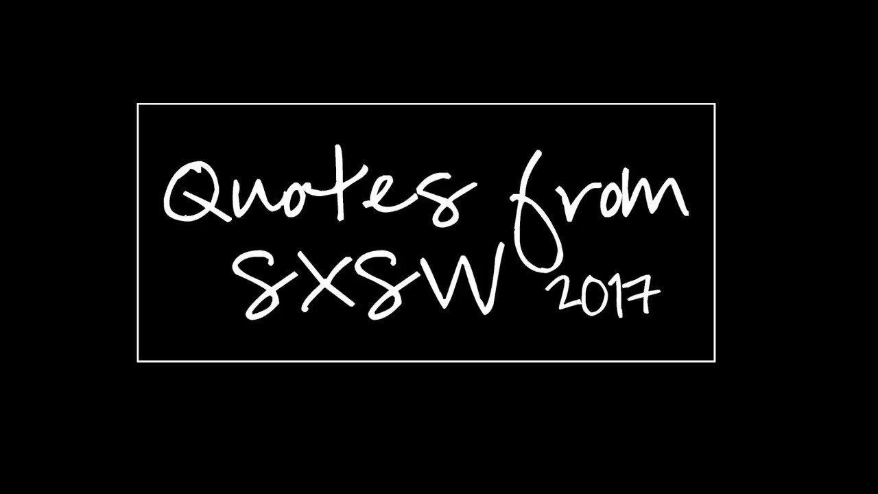 Our own @msalexmenz shares the sights and sounds from on-the-ground at #SXSW. https://t.co/ZLt0MNAmjf