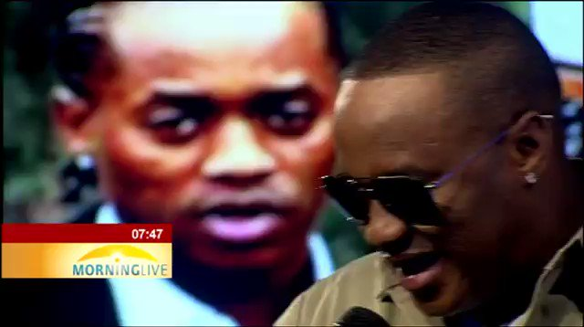 [WATCH] #JubJub performs  his new song 'Ke Kopa Tshwarelo' on @MorningLiveSABC #SABCNews