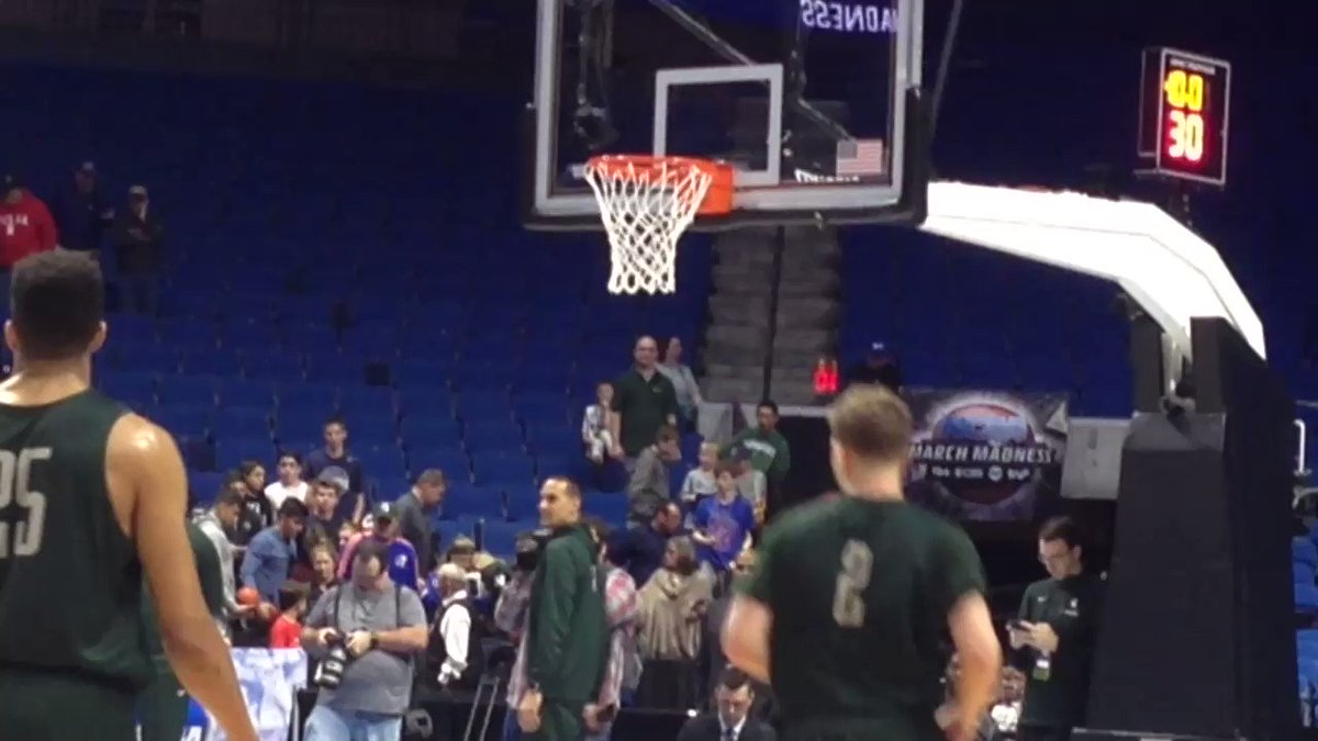 Miles Bridges punctuates Michigan State's open practice here in Tulsa ... https://t.co/nD4DR8F59m