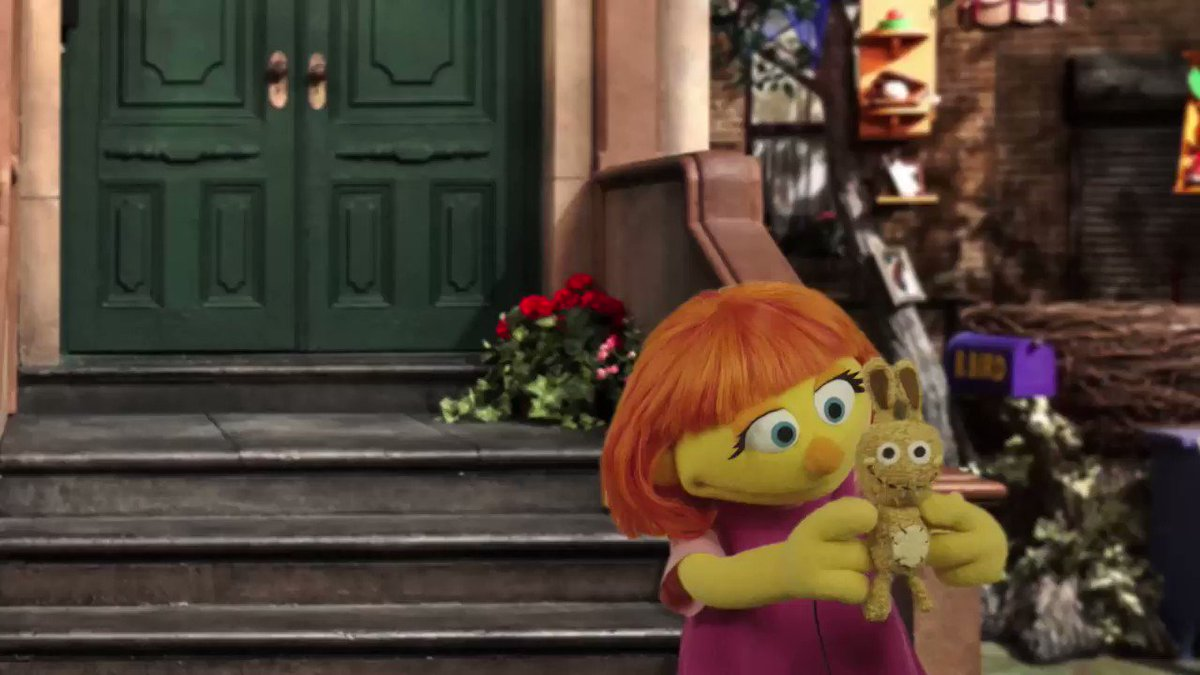 Sesame Street introduces new Muppet, Julia, who has autism
