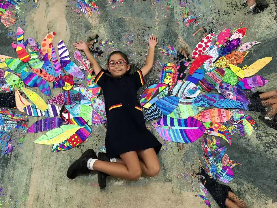 Flying fairies! So fun! #artsed #edtech #ipaded @StHildasQld