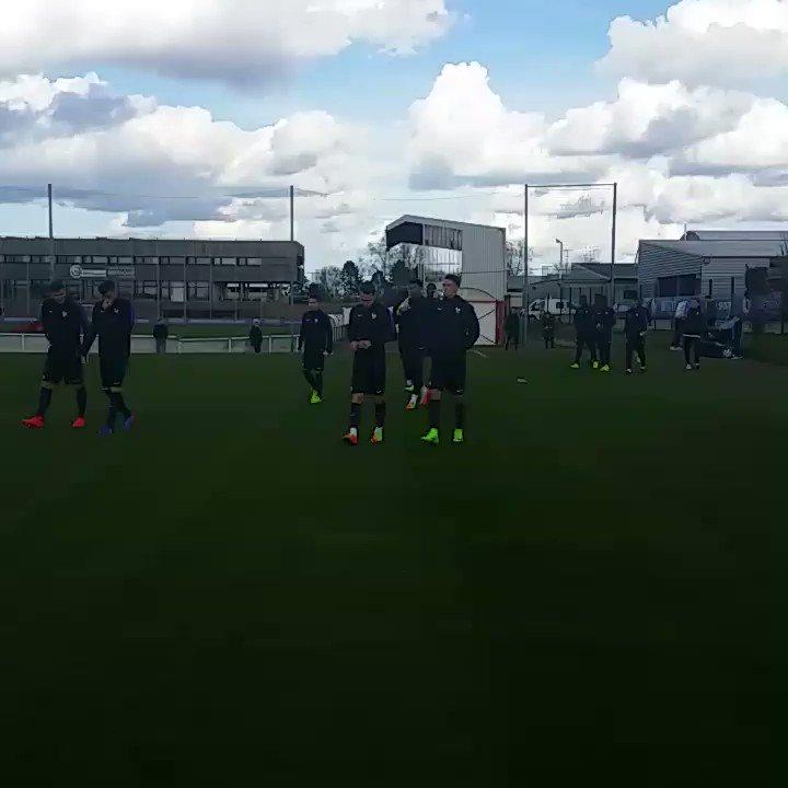 Arrivée des #U20 pour le dernier entraînement avant France - Sénégal....