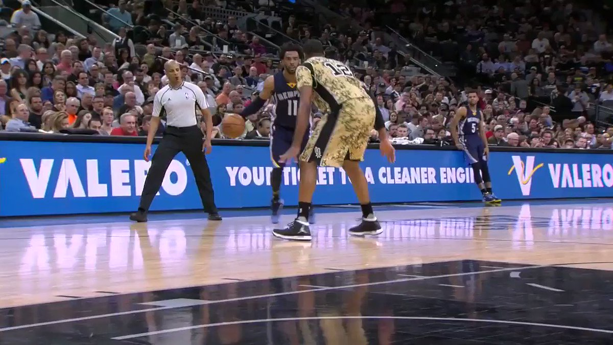 Mike Conley puts on a clinic. https://t.co/emK9aM5JVH