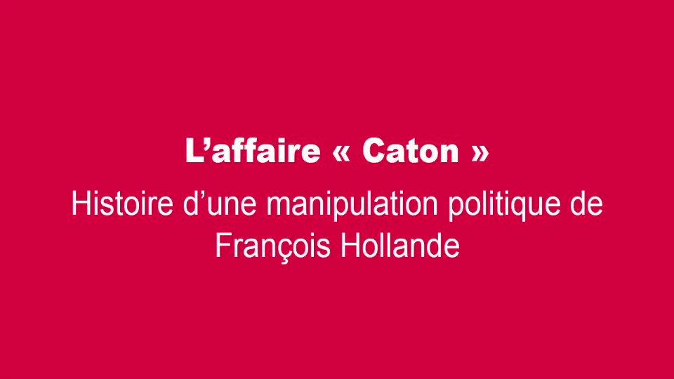 Hollande déjà 31 ans de manipulations politiques à son actif