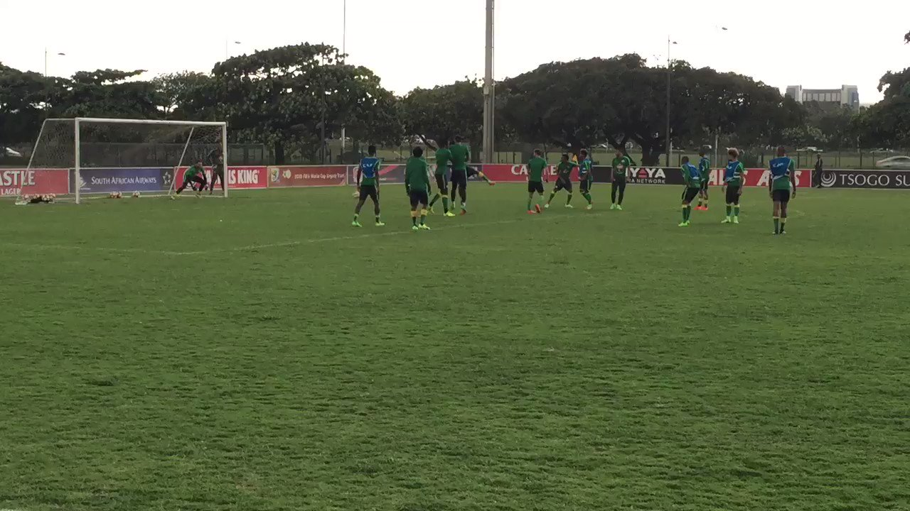Thumbnail for Bafana Bafana training session