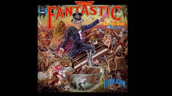 Happy Birthday, Captain Fantastic!  Elton John