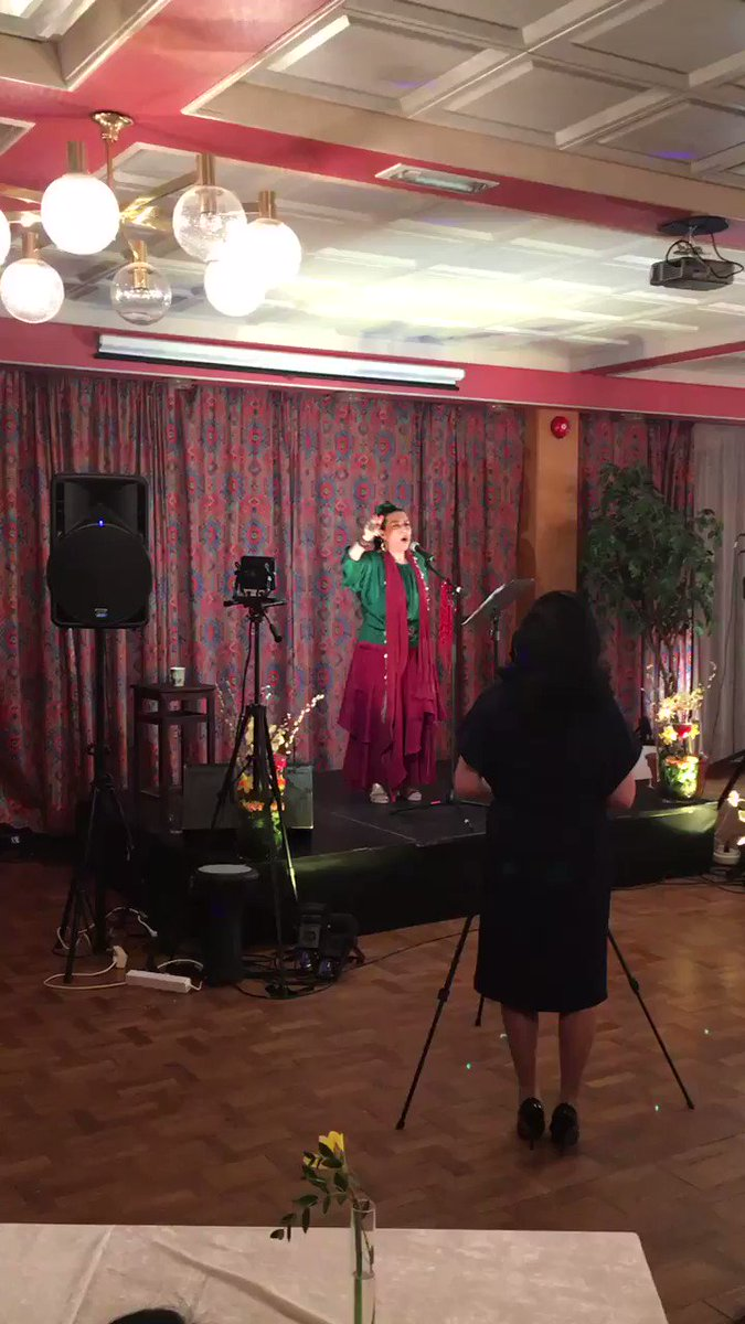 The wonderful Gisoo Shakeri performing at our #Nowruz celebration in #Oslo #Iran
