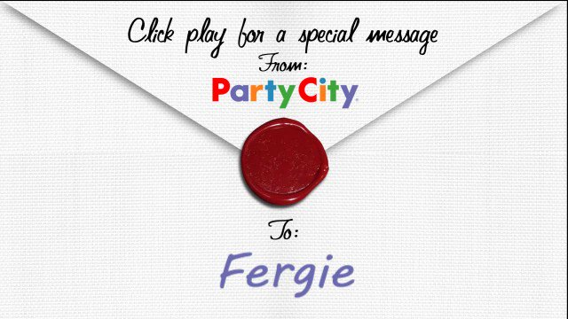 . Happy Birthday, Fergie! A Little Party Never Killed Nobody, so celebrate BIG!