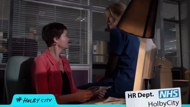 A very special thank-you letter has arrived on AAU today ❤️ #HolbyCity...