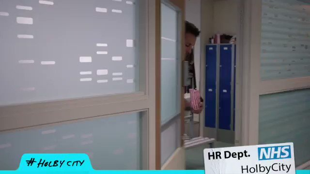 ROOMS, people! We have ROOMS for private chats! 🙄 #GetARoom #HolbyCity...
