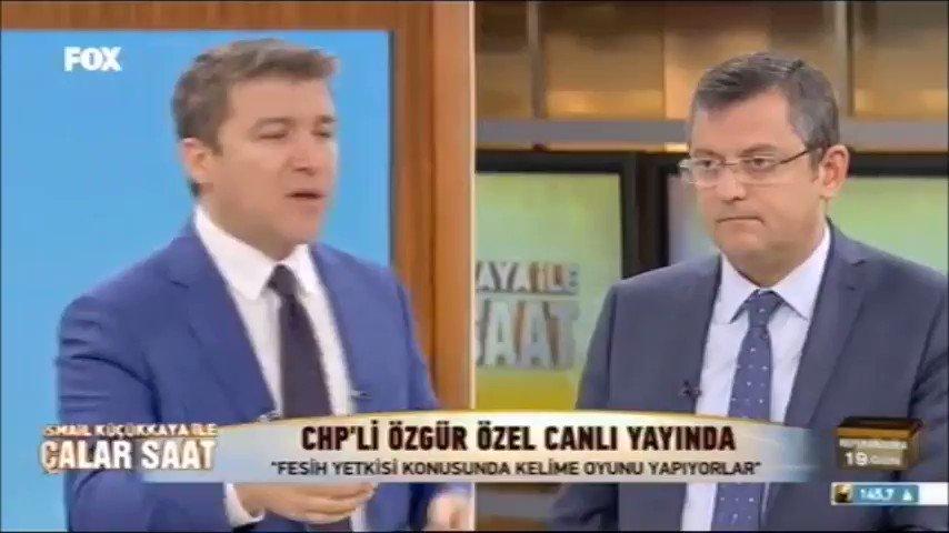 CHP'li Özgür Özel canlı yayında Fesih Yetkisini belgeledi!  İşte o vid...