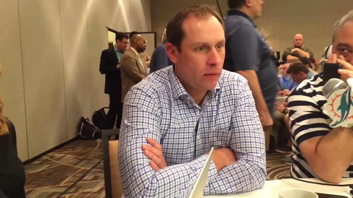 Adam Gase's plan is to keep Miami's 3 top WRs together and isn't conce...