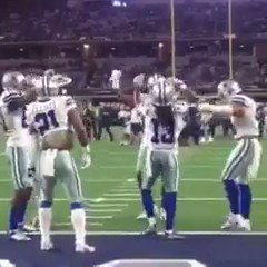 When Jason Witten almost joins the dance party https://t.co/5bs6Ho148n