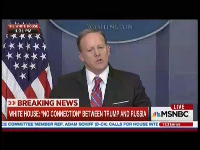 Here's Sean Spicer telling April Ryan not to shake her head. https://t...