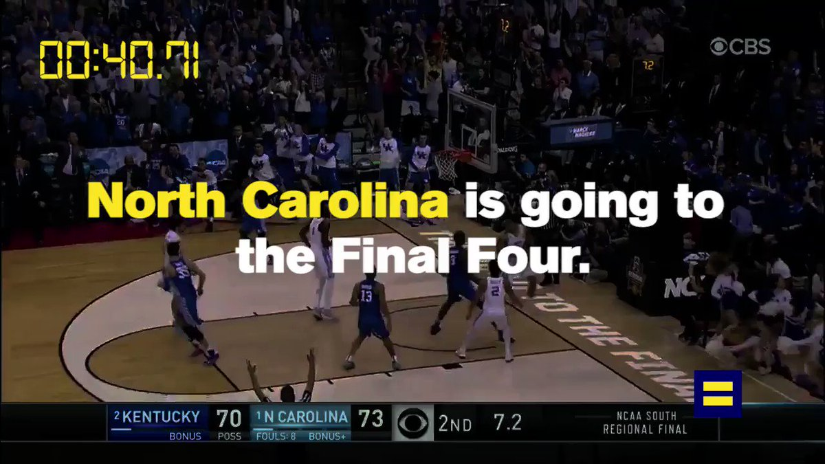 WATCH: These coaches want @NCAA basketball in North Carolina. Will law...