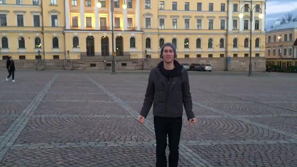 Dancing my way through day two!! ヘルシンキでさんぽ!#Helsinki2017 #WorldFigure...
