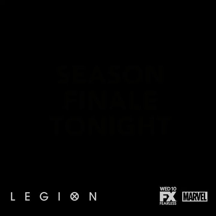 Don't make any sudden moves. The #LegionFX season finale is on tonight...