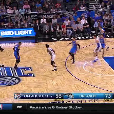 Russell Westbrook is airborne✈️ #SCtop10 https://t.co/7BOJUopPUK
