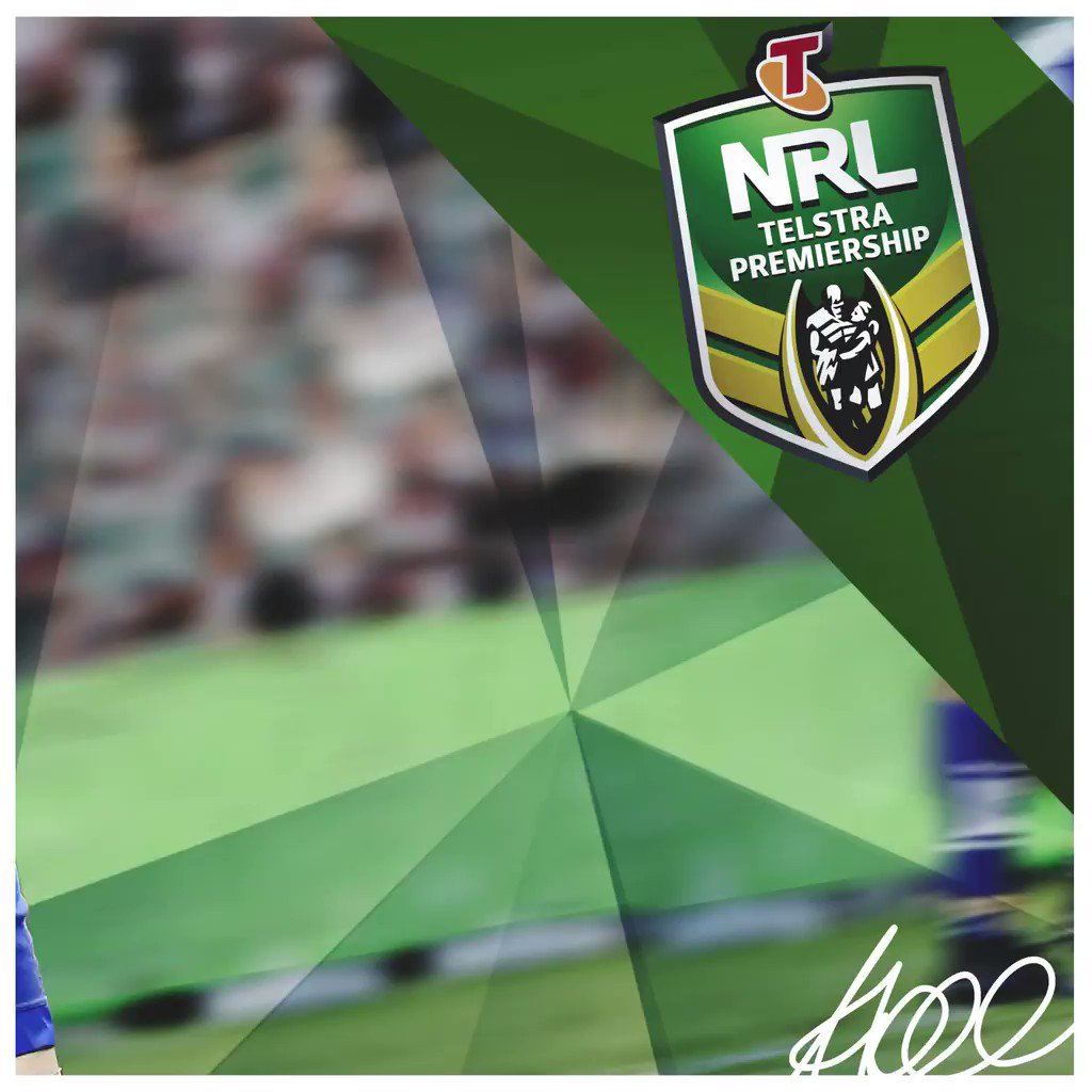 Aiden Tolman will play his 200th #NRL game tonight in #NRLBulldogsBron...