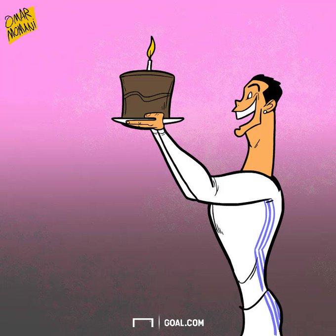 Cristiano Ronaldo wishes happy birthday to Sergio Ramos! By