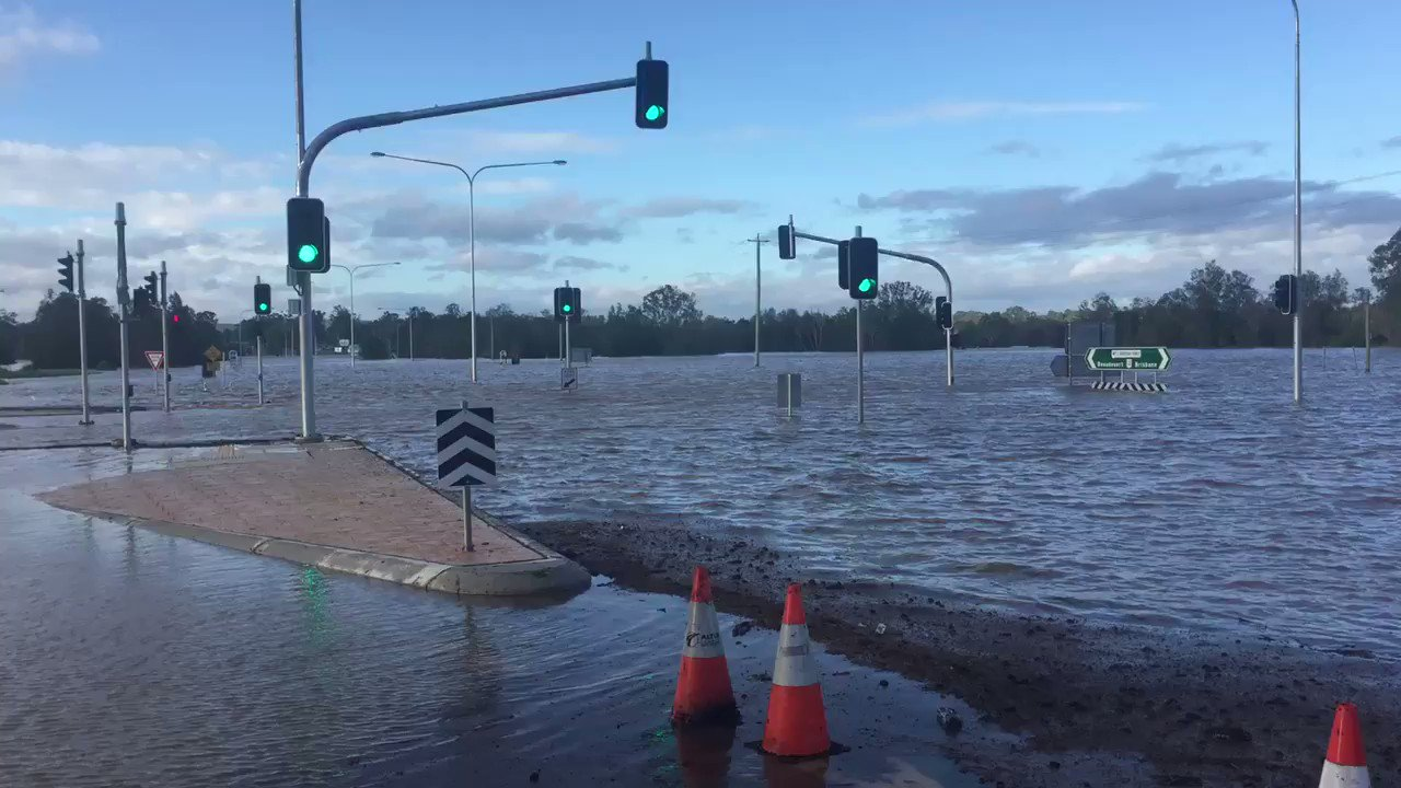Thumbnail for Flooding in south-east Queensland after Cyclone Debbie