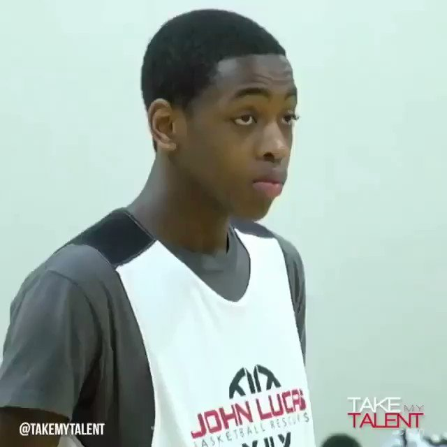 DWade's son Zaire Wade with the range  h...