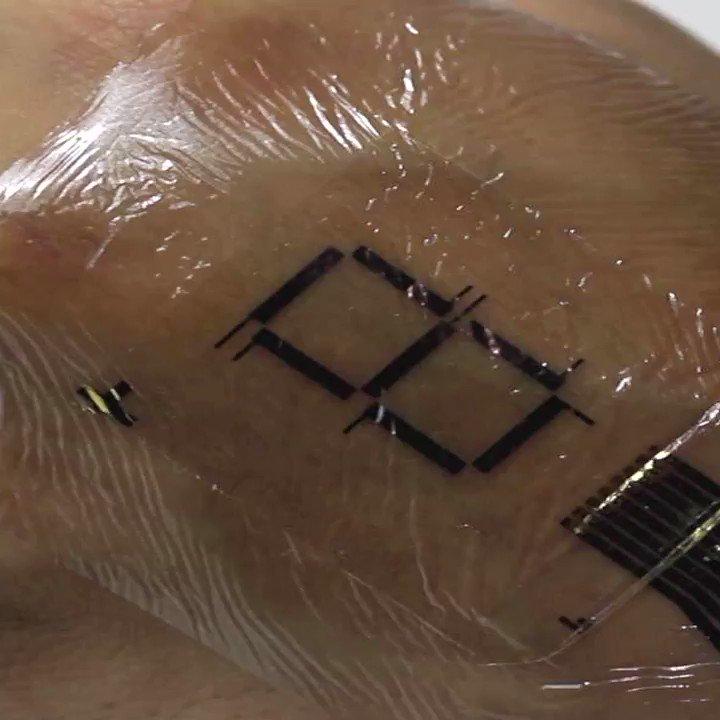 Japanese professor creates e-skin so we can wear electronic display https://t.co/xUjQB79jUk