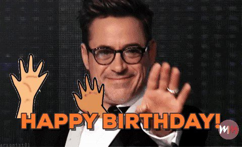 Happy 52nd Birthday Robert Downey, Jr!