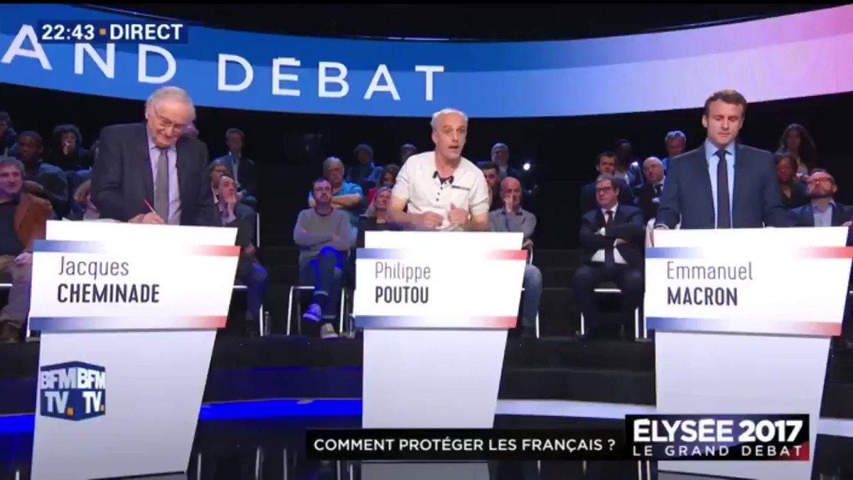 La charge de Philippe Poutou contre François Fillon et Marine Le Pen sur la morale en politique