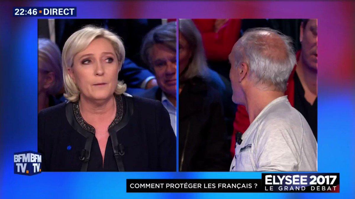Le 'Vous ne servez à rien' de @JLMelenchon à Marine Le Pen. Je suis MORT #LeGrandDebat