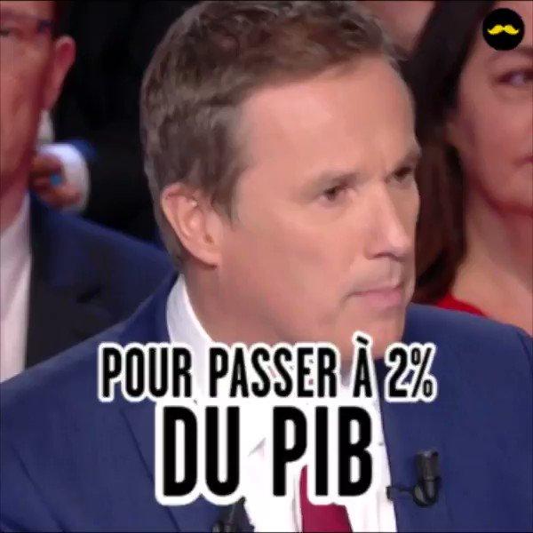 Désolé @dupontaignan, c'était vraiment trop tentant. #LeGrandDebat #PibPib