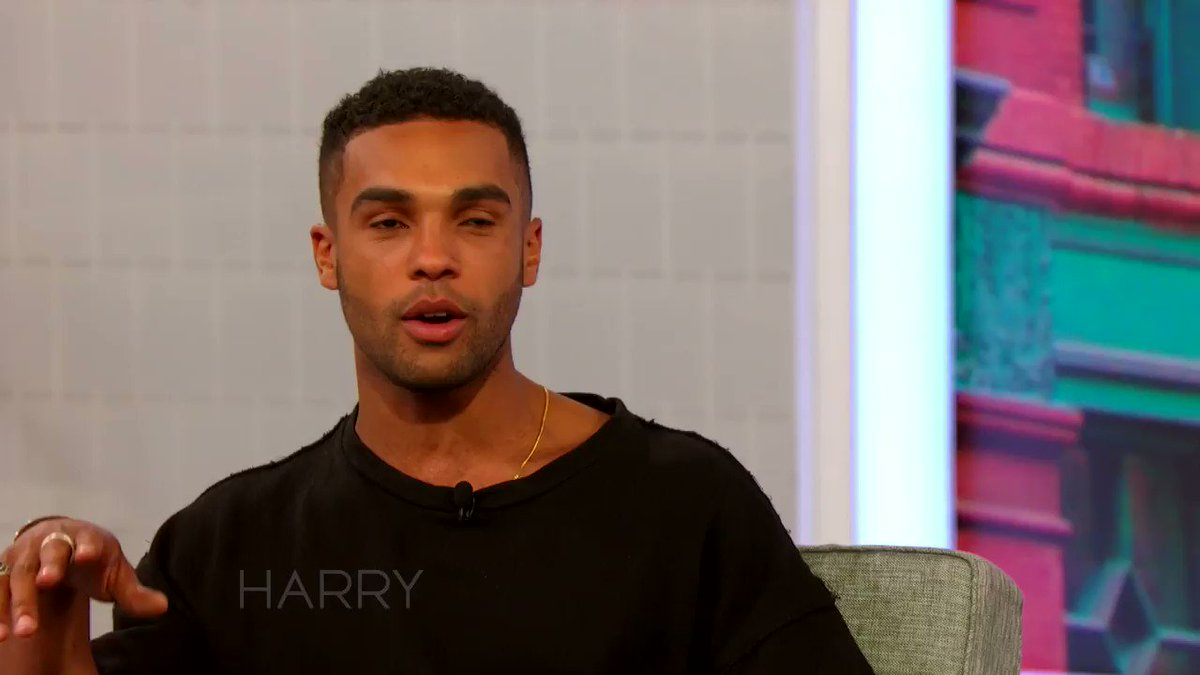 Just how did @ItsLucien get into acting? Well, it involves #TheLionKing, an afro & #DavidBeckham!