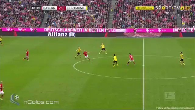 Even when he is 40, Robben will still be scoring goals like this. https://t.co/KXmNJgf4Oz