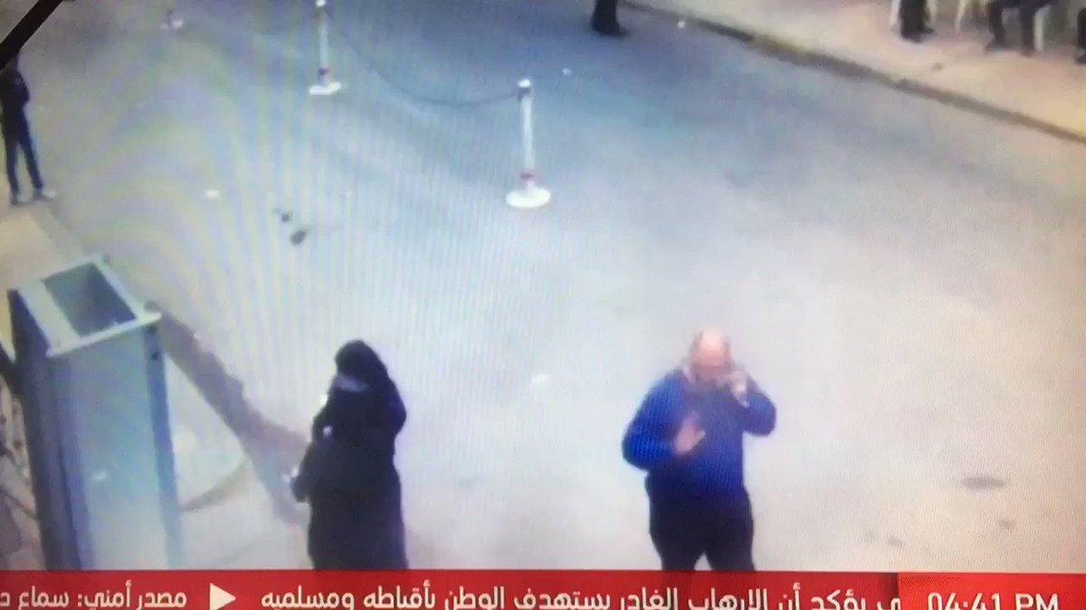 اللحظات الأولى من تفجير الكنيسة المرقسية في الأسكندرية https://t.co/JeProDHqps