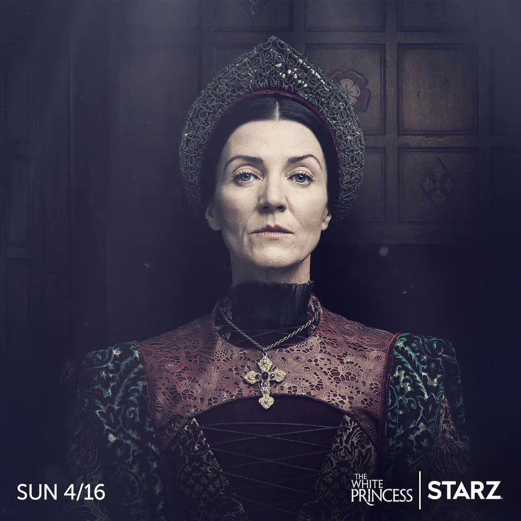 Destinies will be realized and history will be unraveled. #TheWhitePrincess premieres April 16 on @STARZ.