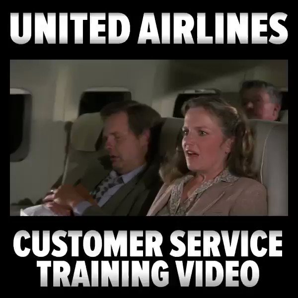 United Airlines Releases new Customer Service Training Video. https://t.co/ygq3SwDua5