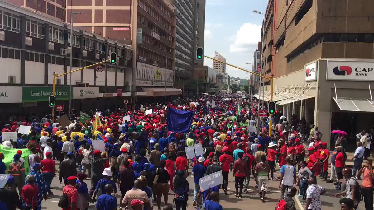 The @MYANC are really not gonna like the story this march is telling. #OppositionMarch https://t.co/wSV1BdFU2D