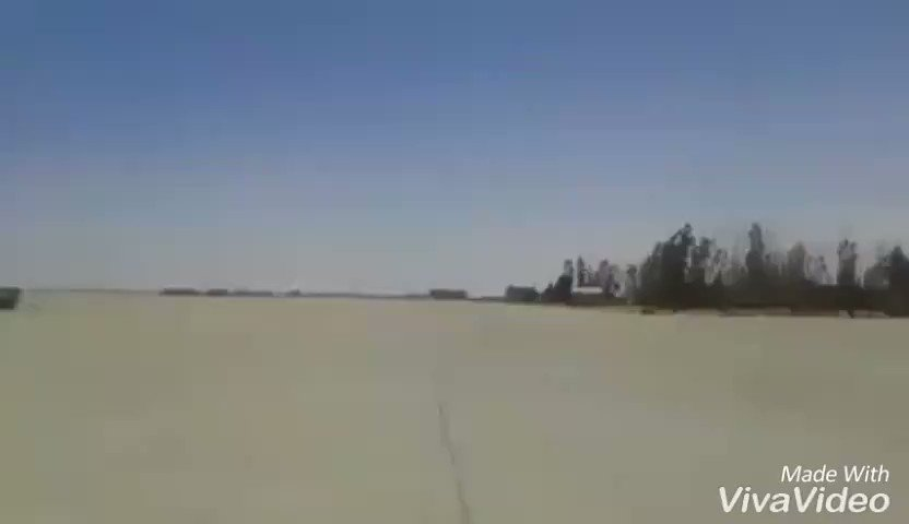 LNAF MiG-21 low passes over Birak al-Shati AB, central Libya in support of Libyan National Army