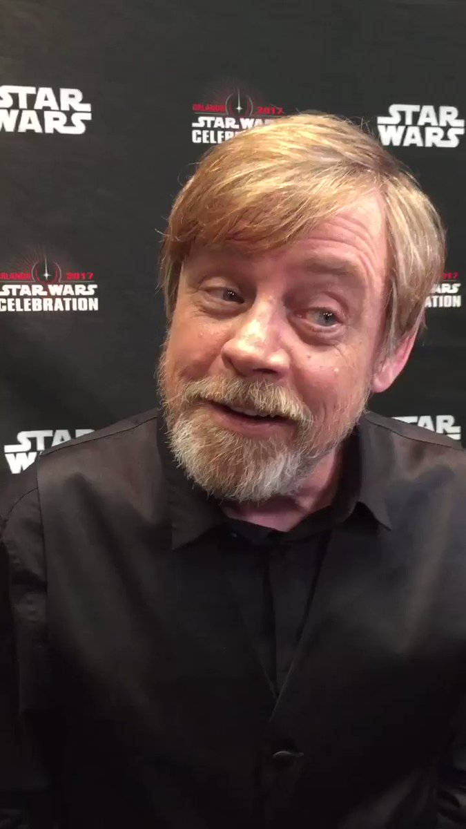 Here's @HamillHimself on the Luke Skywalker/Han Solo reunion he wanted to see in #TheForceAwakens  #SWCO https://t.co/W3H4qiFpf8