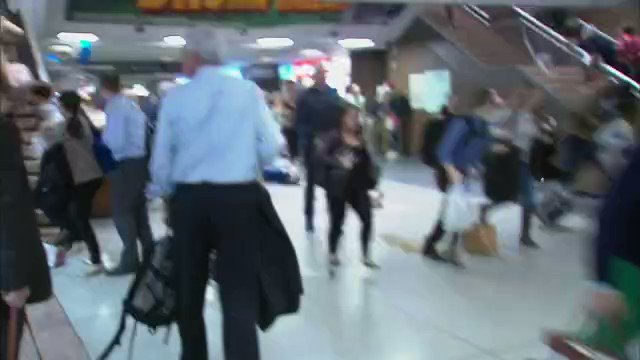 A look at the chaos at Penn Station after Amtrak police used a Taser on a man. Details: https://t.co/4eIk8Ak0k2