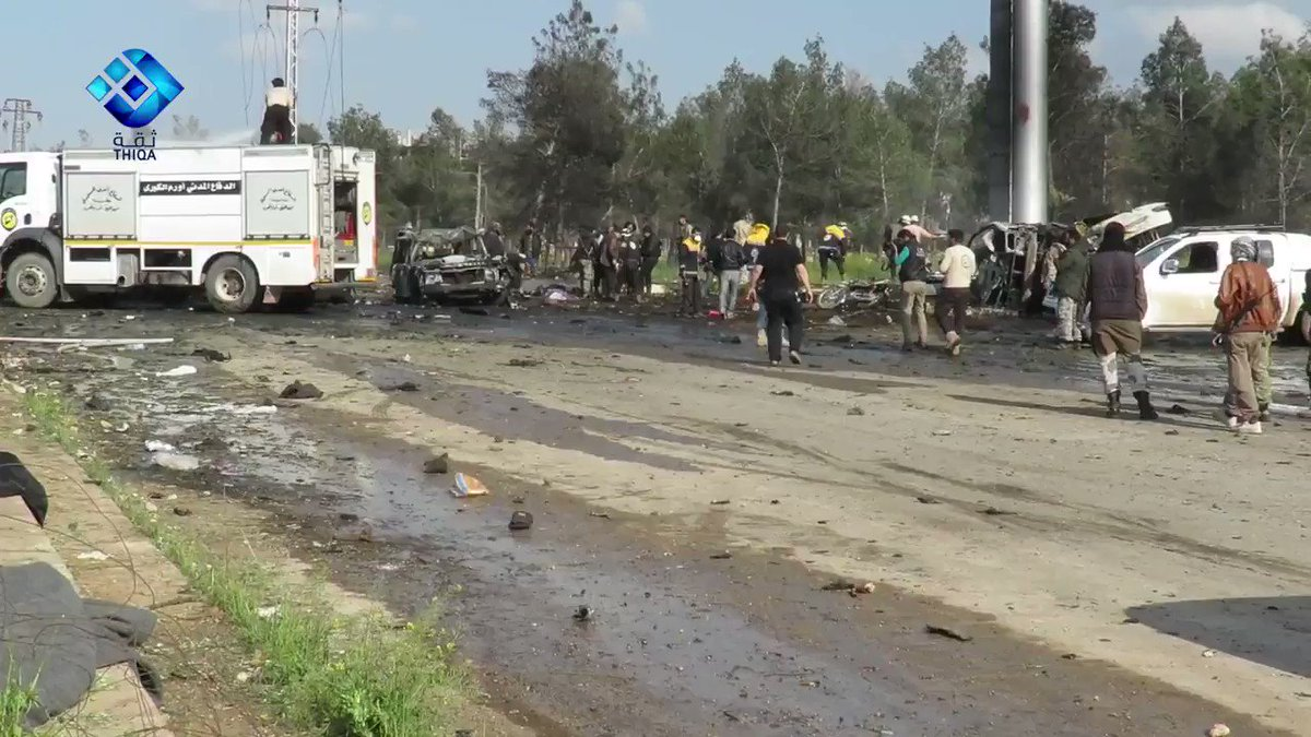 Shaken .@SyrianCivilDef 1st responder: This is a terrorist act. We lost martyrs on both sides and we saved people on both sides. We're neutral.